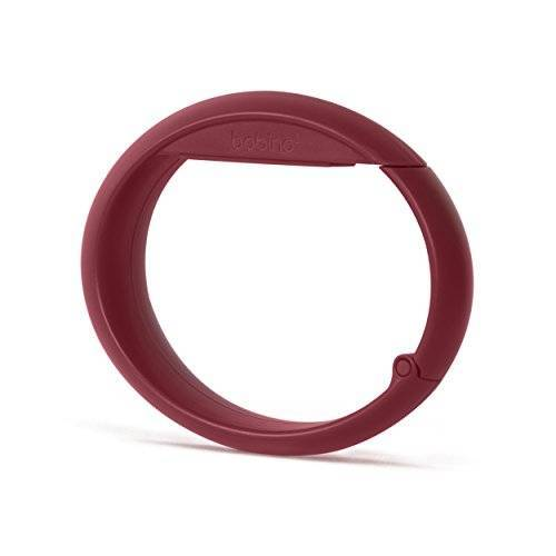 BAGHOBG Bobino Tas Haak Bagageband, 10 cm, 1 liter, Rood (Burgundy)