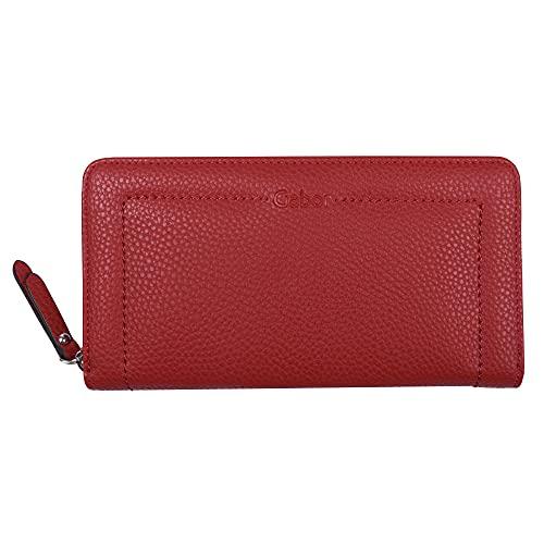 8761 40 Gabor Dames Alanna reisaccessoires portemonnee, rood, Large