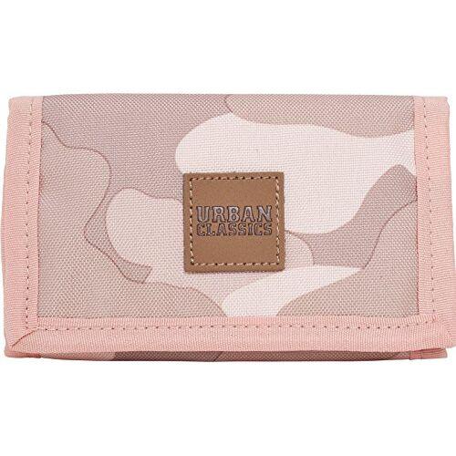 TB2138 Urban Classics Dames  identiteitskaarthoesjes, roze/camo, één maat