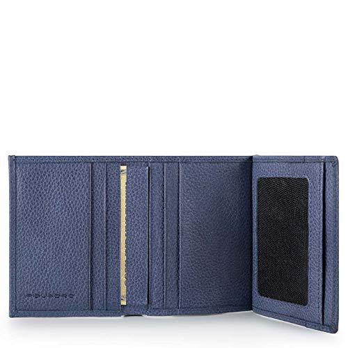 PU3244P15S Piquadro tas voor identiteitskaart, donkerblauw (blauw)