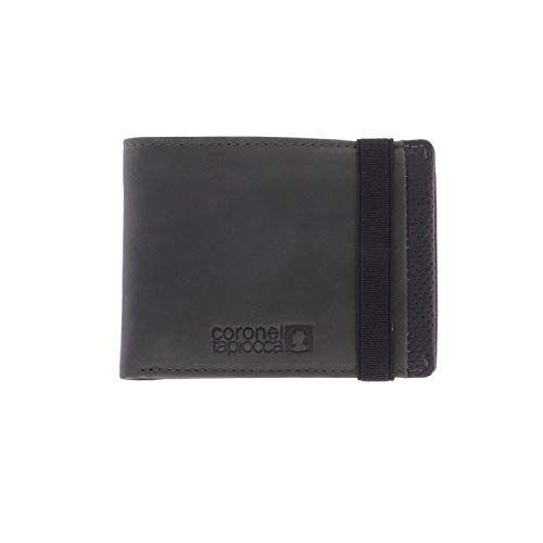 WLX2705005 Portemonnee Tapioca Aitor Kaki voor heren/jongeren met vak voor bankbiljetten, tas, vakken voor kaarten en binnenvakken.