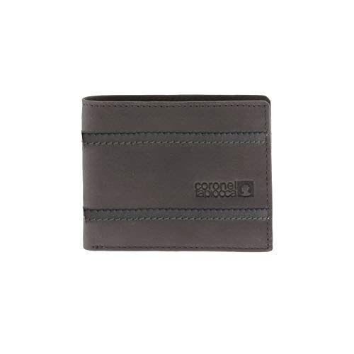 WLX2700005 Portemonnee Tapioca Adan Kaki heren/jongeren met vakken voor bankbiljetten, tassen, vakken voor kaarten en binnenvakken.