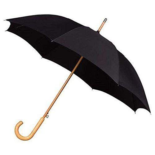 LA-17-8120 Impliva Falcone paraplu, 102 cm, zwart (zwart)