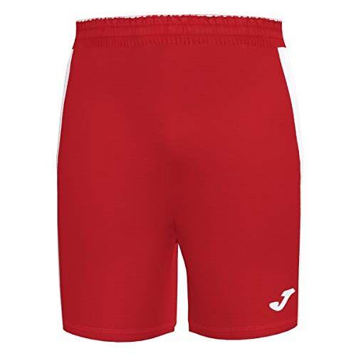 101657.602 Joma Academy III uitrusting broek, heren, rood-wit, L