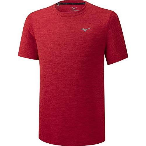 J2GA7519 Mizuno Impulse Core Tee T-shirt, dames, hoog risicovisrood, XL