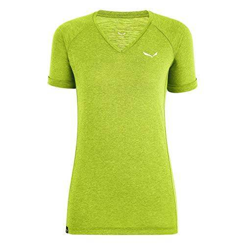 00-0000027743 Salewa dames Puez Mel Dry W V-hals S/S Tee blouses & T-shirts