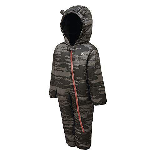 DKP378 N1QCA4 Dare 2b Kid's Bambino Waterdicht en Ademend Hoog Geïsoleerde Hooded Karakter Regen en Sneeuwpak