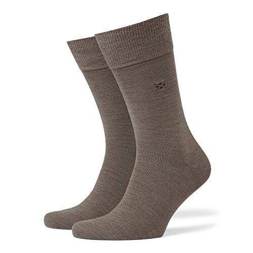 21007-5810 BURLINGTON Mannen Leeds Sokken Virgin Wool Blend, Meerdere kleuren, UK maten 6.5-14 (EU 40-50), 1 Paar Warm, ideaal voor casual outfits