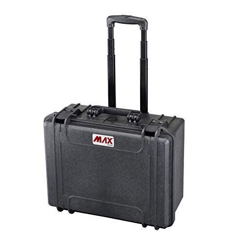 MAX465H220STR Panaro Max Cases Koffer voor trolley, luchtdicht, geen soort, zwart, M