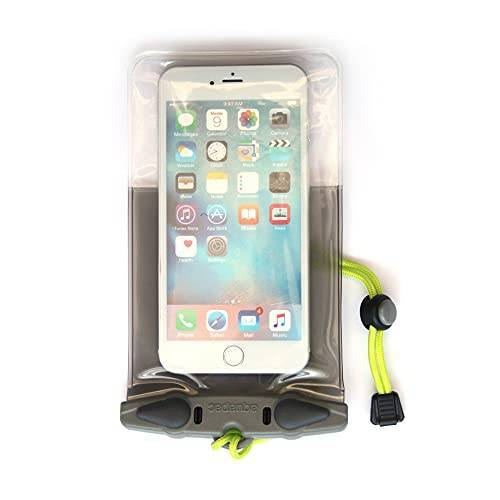 358 AQUAPAC Smartphone-hoesje waterdicht iPhone 6 Plus Case, grijs/transparant, 20,5 x 11,5 x 2,0 cm, 0,01 liter,