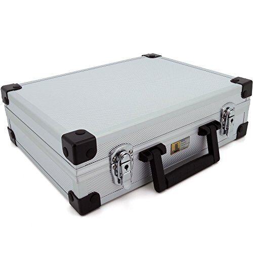 424100 allit AluPlus Basic, , koffer voor gebruiksvoorwerpen, maat: L, zilver
