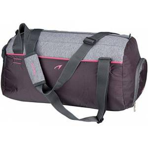 Avento_8716404298623 Avento dames 50tj sporttas antraciet/grijs melange/fluo pink, één maat