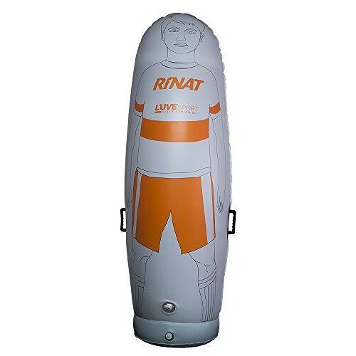 HIN-TRA-17 Rinat Hinchable Nrg Training opblaasbare verdediging, wit/oranje, één maat