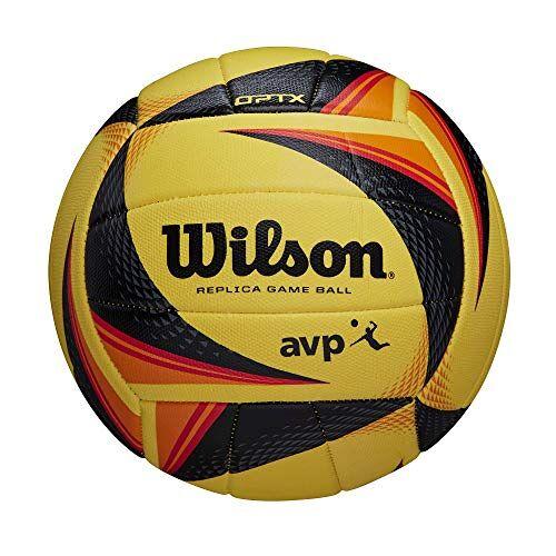 K-REY-WTH01020XB Wilson OPTx Avp Vb Replica Volleybal, Geel, Officiële Grootte