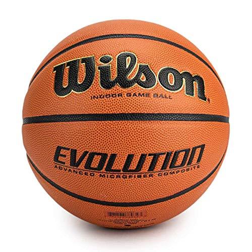 WTB0586XBEMEA Wilson Unisex Volwassen EVOLUTION BSKT EMEA basketbal, bruin, 6