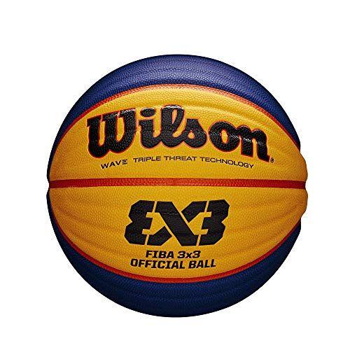 WTB0533ID Wilson Unisex-Adult FIBA 3X3 Game Basketbal, Oranje, Intermed