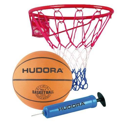 71710 HUDORA Basketbalset Slam It basketbalkorf, basketbal
