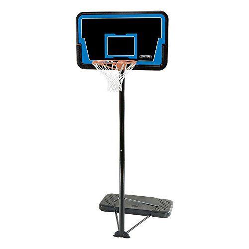 1268 Lifetime Buzzer Beater Mobiele basketbalstandaard, kleurrijk, M