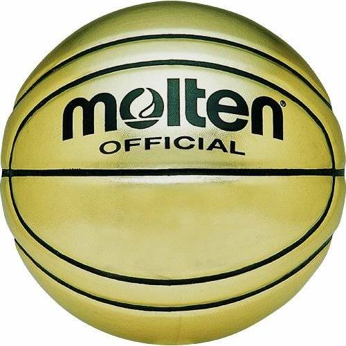 BG-SL7 Molten basketbal ideaal voor autogram, goudkleurig, maat 7
