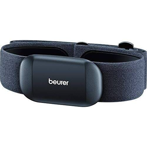 676.26_Schwarz Beurer PM 235 hartslagmeting met smartphones, borstband met Bluetooth 4.0 voor hartslagmeting en registratie van trainingsgegevens met gangbare fitness-apps zoals runtastic.