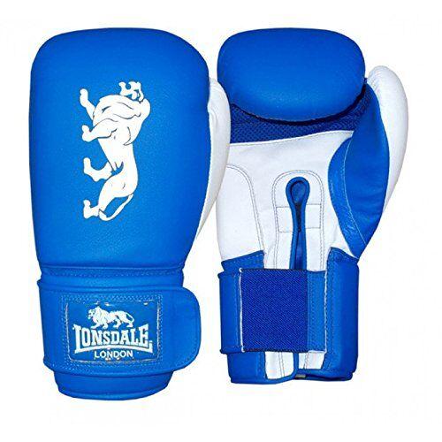 402673_blau/weiß_12 oz Lonsdale Bokshandschoen Cruiser, Unisex, Cruiser Boxhandschuhe, blauw/wit, 12 oz