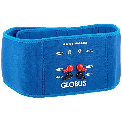 G0487 Globus Unisex SNELLE BAND Riem voor elektrische stimulator, lichtblauw, één