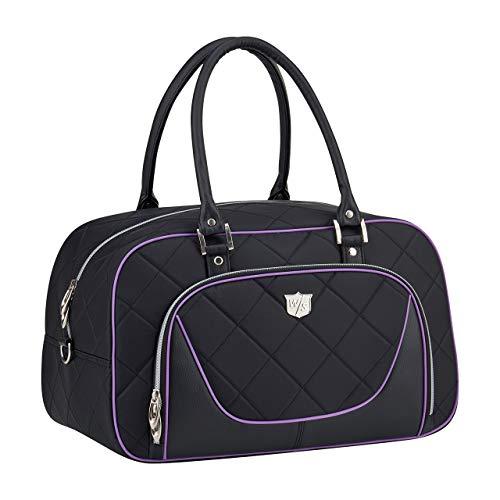 Wilson Lady's Holdall BLPU golftassen, zwart, één maat