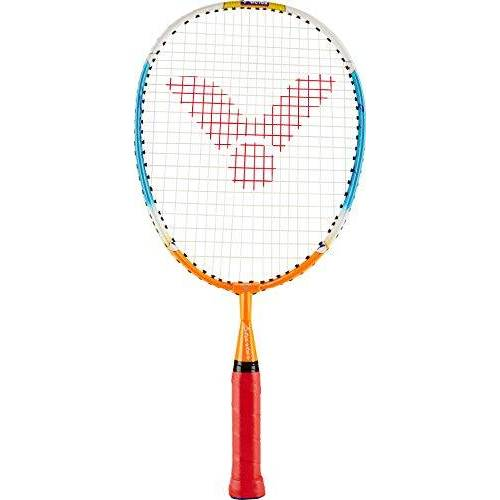116/4/3 VICTOR Badmintonracket starter, geel/rood, 43,0 cm,