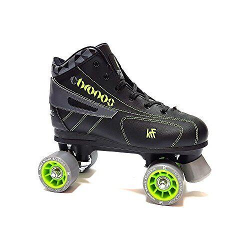0016998T36 KRF IJshockey Chronos rolschaatsen, rollers figuur quad, zwart, 36