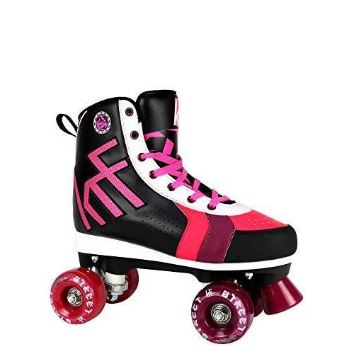 0017066T38 KRF kinderfigure Quad Street rolschaatsen, zwart, 38