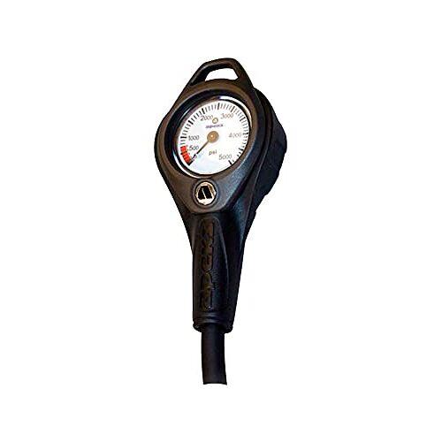 0751360 Apeks manometer SPG 5000psi manometer, meerkleurig (meerkleurig)