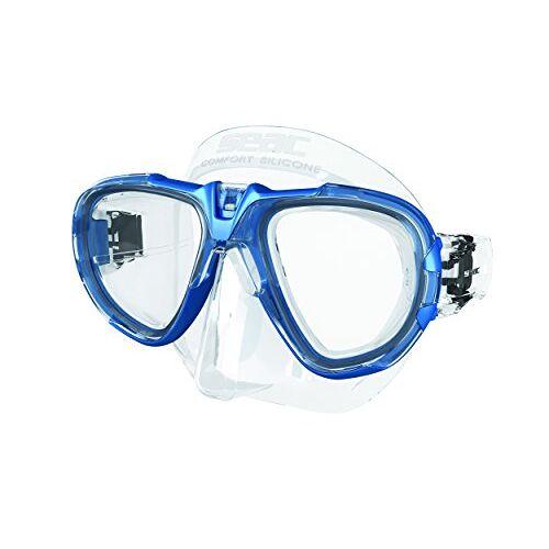 0750031001180A Seac Fox – Een Duikmasker van Professionele Kwaliteit voor Scubaduiken, Snorkelen en Freediving met beschermend Omhulsel, Optische Lenzen -1,0 tot -6,0 afzonderlijk beschikbaar