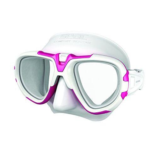 0750032010680A Seac Fox – Een Duikmasker van Professionele Kwaliteit voor Scubaduiken, Snorkelen en Freediving met beschermend Omhulsel, Optische Lenzen -1,0 tot -6,0 afzonderlijk beschikbaar