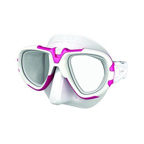 0750031010680A Seac Fox – Een Duikmasker van Professionele Kwaliteit voor Scubaduiken, Snorkelen en Freediving met beschermend Omhulsel, Optische Lenzen -1,0 tot -6,0 afzonderlijk beschikbaar