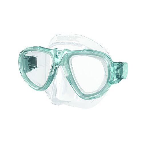 0750031001018A Seac Fox – Een Duikmasker van Professionele Kwaliteit voor Scubaduiken, Snorkelen en Freediving met beschermend Omhulsel, Optische Lenzen -1,0 tot -6,0 afzonderlijk beschikbaar