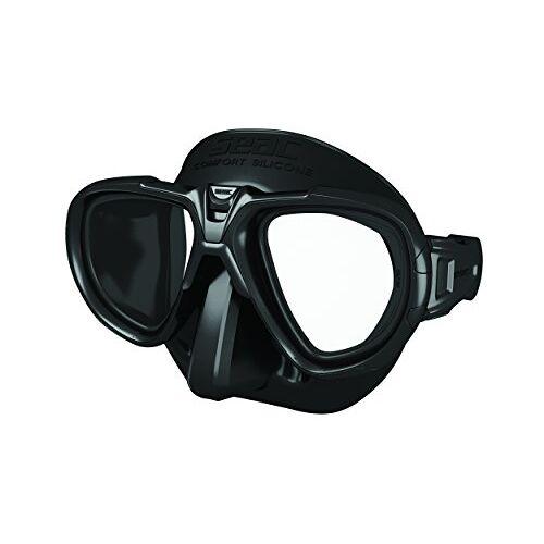 0750031003520A Seac Fox – Een Duikmasker van Professionele Kwaliteit voor Scubaduiken, Snorkelen en Freediving met beschermend Omhulsel, Optische Lenzen -1,0 tot -6,0 afzonderlijk beschikbaar