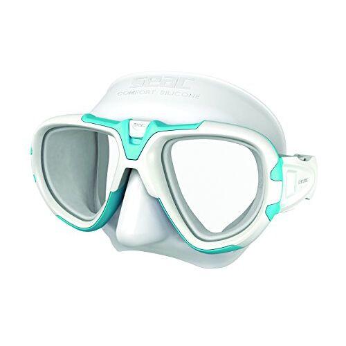 0750032010018A Seac Fox – Een Duikmasker van Professionele Kwaliteit voor Scubaduiken, Snorkelen en Freediving met beschermend Omhulsel, Optische Lenzen -1,0 tot -6,0 afzonderlijk beschikbaar