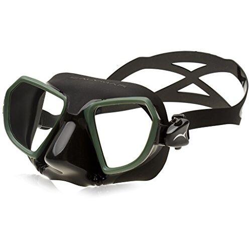 7000BG Salvimar Noah duikmasker, zwart/groen
