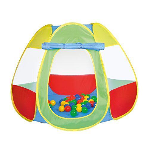 knoortoys_55323 Knorrtoys 55323 Bellox ballenbad inclusief 50 ballen, speeltent, kleurrijk