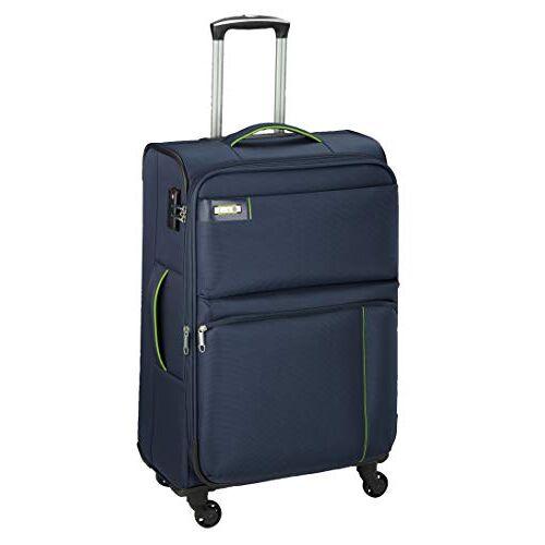 6774-06 D & N Travel Line 6704 koffer, 75 cm, blauw (blauw)