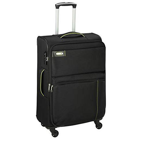 6774-01 D & N Travel Line 6704 Koffer, 75 cm, zwart (zwart)