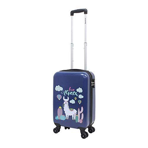 1441H0.22.10 Kinderkoffer harde schaal handbagage koffer saxoline 55 cm Lama