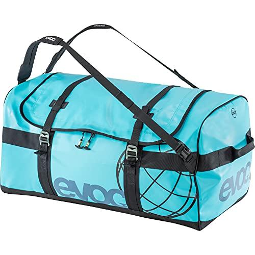 7302-373_Bleu Ciel_Taille M EVOC Duffle Bag uitrusting tas, neon blauw, 60 x 35 x 30 cm, 60 liter