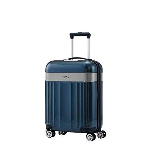 "831406-22 Titanium Bagageserie ""Spotlight Flash"": Edele Titan-Trolleys En Beautycases In Bonte Trendy Kleuren Koffer S (55 cm), 55 cm"