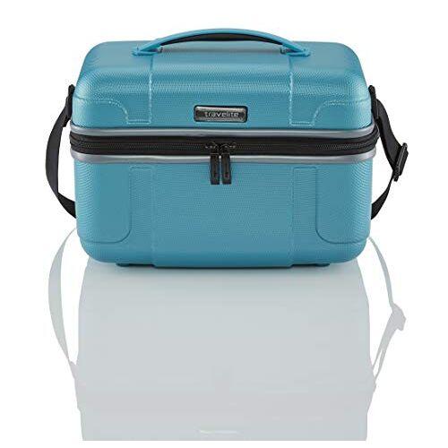 2275779 Travelite  VECTOR Trolley met Harde Schaal, 36 cm, 20 liter, Turquoise