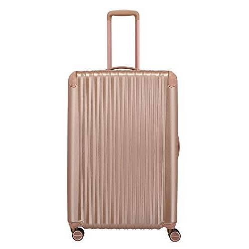 "845404-15 Titan Exclusieve Elegantie: Bagageserie ""Barbara Glint"" Koffer, 77 Cm, 100L, Roze Metallic"