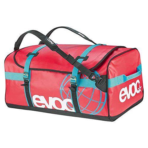 7301-533_Rouge_Taille L EVOC Duffle Bag uitrusting tas, rood, 70 x 40 x 35 cm, 100 liter