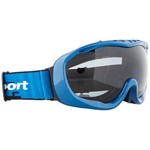 331500000093 Ultrasport Skibril/snowboardbril met anti-condensglas, blauw/grijs