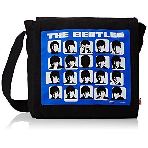 THE BEATLES schoudertas, zwart
