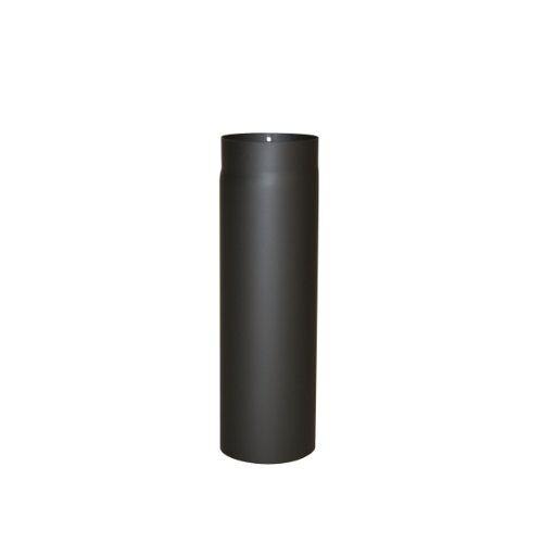 Kamino - Flam Kamino Flam Hittebestendige Senotherm Coating Rookkanaal voor kachels, zwart, 120 mm